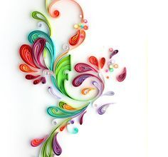 Yulia Brodskaya : Illustration - Paper Quilling. She also uses paper quilling (advanced for sure) to do portraits - amazing work.