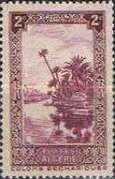 [The 10th Anniversary of the Algerian Postage Stamp - Colomb Bechar, type Z]