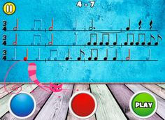 Rhythm Cat Pro HD - Learn To Read Music! A fun game that will help kids and adults learn to read some basic music rhythms.60 entertaining levels that get progressively more challenging. #ComboApp #Choice