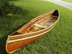 Build your own Cedar Strip Canoe - Gentlemint Wood Canoe, Wooden Kayak, Canoe Boat, Canoe Trip, Canoe And Kayak, Wooden Boats, Boat Dock, Canoe Plans, Sailboat Plans