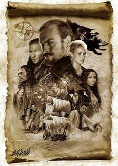 Pirate Art, Pirate Life, Black Sails Starz, Charles Vane, Golden Age Of Piracy, Pirate Photo, Pirate Adventure, Movie Poster Art, Treasure Island