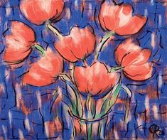 Tulipes rouges: Christian Rohlfs