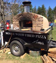 Mobile Brick Oven — Anzio's Brick Oven Pizza