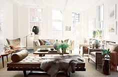 eclectic modern neutral