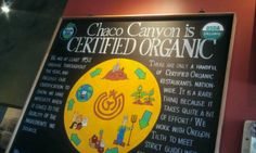 Chaco Canyon Organic Cafe in Seattle, WAright down the street!!!