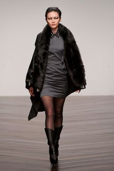 Aminaka Wilmont at London Fashion Week Fall 2013 - StyleBistro