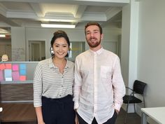 Introducing Samantha Wong & Angus Begg, our interns from the UBC Sauder School of Business. Find out what it's like to work at Envol Strategies! What Is Like, Amp, Shirt Dress, Business, School, Mens Tops, Shirts, Fashion, Moda