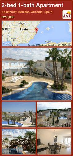 2-bed 1-bath Apartment in Apartment, Benissa, Alicante, Spain ►€215,000 #PropertyForSaleInSpain