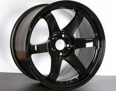 18x9.5 Rota Grid - Yamaha Black (5x114.3/e20/73) Wheeldude.com - Professional wheel dealer.