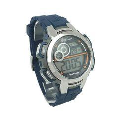 c7de63256006 Reloj digital para hombre con correa de caucho en color azul
