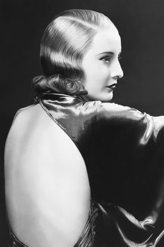 Barbara Stanwyck photographed for Baby Face, 1933.