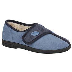 Sleepers Damen Abigail Hausschuhe / Pantoffeln mit Klettverschluss - http://on-line-kaufen.de/sleepers/sleepers-damen-abigail-hausschuhe-pantoffeln