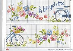 chaise toi et moi - Chantal Nyssen - Picasa Web Albums 123 Cross Stitch, Cross Stitch Kitchen, Cross Stitch Books, Cross Stitch Borders, Cross Stitch Flowers, Cross Stitch Charts, Cross Stitching, Cross Stitch Embroidery, Embroidery Patterns