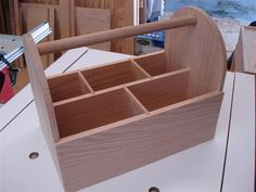 Grooming Tote ready to be stained