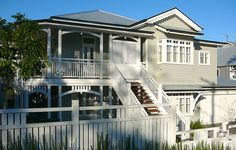 Queenslander house in Brisbane