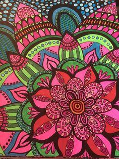 ColorIt Calming Doodles Volume 1 Colorist Nancy Newton Adultcoloring Coloringforadults Adultcoloringpages