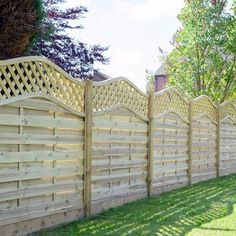 do you know the difference in the types of fence panels. Timber Fence Panels, Types Of Fences, Backyard, Patio, Garden Fencing, Dream Garden, Modern Design, Pergola, Home Improvement