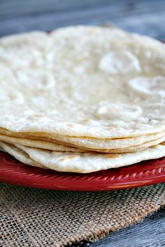 Homemade Tortillas | heathersfrenchpress.com #tortillas