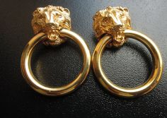 0G Plugs 8MM Gold Lion Dangle Plugs Gauges by LILITHuMYRRH on Etsy, $55.00