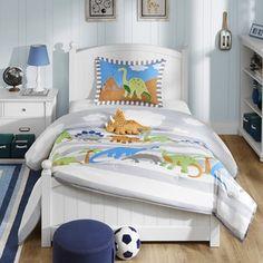 Mi Zone Kids Daring Dino 4-piece Comforter Set - 17077320 - Overstock.com Shopping - The Best Prices on Mi-Zone Kids' Comforter Sets