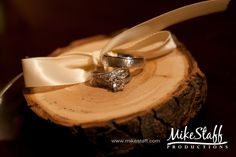 #wedding rings #Michigan wedding #Mike Staff Productions #wedding details #wedding photography #rustic wedding http://www.mikestaff.com/services/photography
