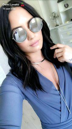 ✧☼☾Pinterest: DY0NNE #demilovato #snapchat