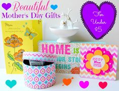 Beautiful Mother's Day Gifts For Under $5 # ad @Walmart ...