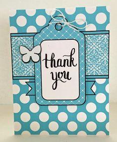 ~ Marilyn's Cricut Cards ~: Thank You