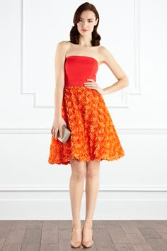 floral skirt... literally. so cute. $390 via Coast London.
