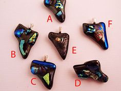 State of Nevada glass fusion pendants and pins by LikeYourJunk, $20.00