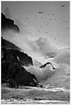 Stormy seas by Peddyrmac