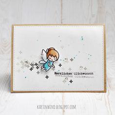 Kartenwind: Lawn Fawn Geburtstagskarte Gute Besserung #kartenwind #lawnfawn…