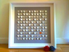 Personalized 3D Wedding Hearts