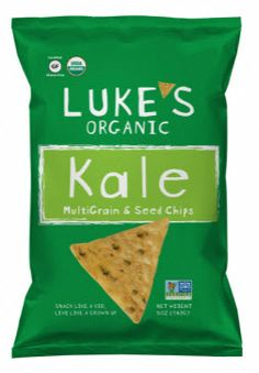 Lukes Organic Kale Multigrain and Seed Chips 5 Ounce Pack of 12 * Continue to the product at the image link-affiliate link. Gluten Free Snacks, Gluten Free Diet, Foods With Gluten, Gluten Free Recipes, Kosher Snacks, Organic Chips, Healthy Dips, Lunch Snacks, Lunches