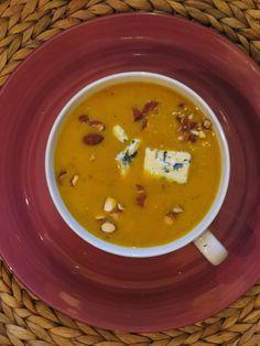 LInzen blauwe kaas soep #soup #comfortfood
