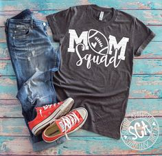 Football, football mom, Mom Squad svg design, football mom svg, football shirt, football mama cut file, football clipart