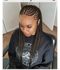 I just like the neatness and dimension! Box Braids Hairstyles, African Hairstyles, Pretty Hairstyles, Girl Hairstyles, Braided Hairstyles For Black Women, Braids For Black Hair, Curly Hair Styles, Natural Hair Styles, Pelo Afro