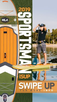 The Sportsman was designed for stand up paddle board fishing. This inflatable fishing paddle board comes equipped with Scotty Mount attachments and extra bungees for your entire fishing setup. Sup Fishing, Best Fishing, Inflatable Paddle Board, Inflatable Kayak, Sup Stand Up Paddle, Kayak Storage, Kayak Accessories, Standup Paddle Board, Sup Surf