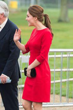 Pin for Later: La Duchesse de Cambridge et Son Baby Bump Sont de Sortie