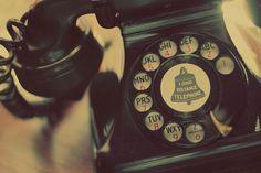 * vintage telephone *