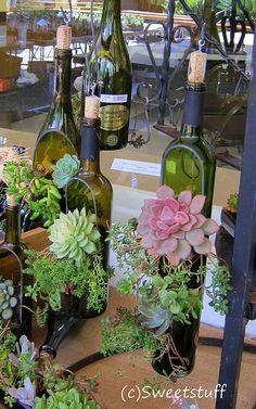 Donna Davis Taylor melted bottles | Flickr - Photo Sharing!