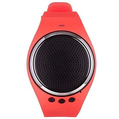 Bluetooth Watch - TOOGOO(R) Sport Watch,RS09 Bluetooth Bracelet Wristband with Speaker Sport Running Music Watch,Black Friday(Red)   * TOOGOO is a registered trademark. ONLY Authorized seller of TOOGOO can sell under TOOGOO listings.Our products will enhance your experience to unparall