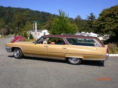 '69 Cadillac Fleetwood Hardtop Station Wagon 472 c.i