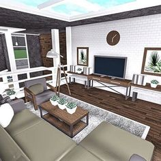 Two Story House Design, Tiny House Layout, Unique House Design, House Layouts, Tiny House Bedroom, Bedroom House Plans, House Rooms, Modern Family House, House Plans With Pictures