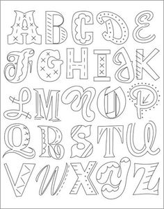 Image of epic alphabet embroidery pattern