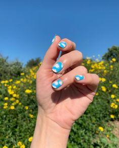 Nail Art Diy, Easy Nail Art, Cool Nail Art, Diy Manicure, Diy Nails, Swag Nails, Cute Short Nails, Cute Nails, Mens Nails
