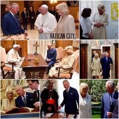 4th April 2017: TRH made their way to Rome where they were received by Pope Francis and tour the historic Vatican Library and Secret Archives. TRH also visited the British School in Rome where they met student and artists. The Prince also joined Cardinal Turkson at a meeting on climate change at the Pontifical Council for Inter-Religious Dialogue.   #RoyalVisitHolySee