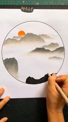 3d Art Drawing, Art Drawings For Kids, Art Drawings Sketches Simple, Art Drawings Beautiful, Diy Canvas Art, Art Tutorials, Art Lessons, Creative Art, Watercolor Art