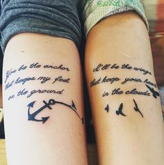 Your best friend is the person you can count on for anything — whether it's good or bad, they will always be by your side, making funny faces or bringing you coffee on long days. Getting a best friend tattoo with your closest pal can be a cool way to show everyone that this person is literally a