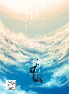 Free Fall by Mimibert